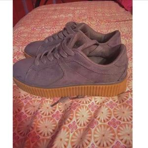 Robin suede creepers